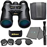Nikon 7548 Monarch 7 8x42 Binoculars, Black Bundle with a Nikon Lens Pen and a Lumintrail Microfiber Cleaning Cloth