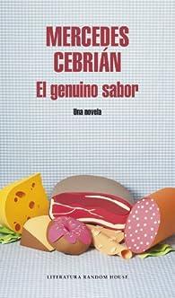 El genuino sabor par Mercedes Cebrián