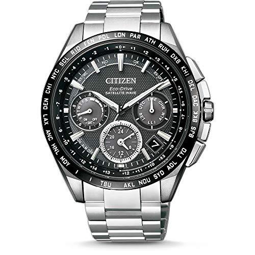 Citizen Herren Multi Zifferblatt Quartz Uhr mit Titan Armband CC9015-54E