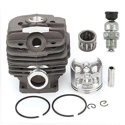 Harbot New Pack of 48mm Cylinder Piston Kits Gasket Decompression Valve fit for Stihl 036 Ms360 Chainsaw