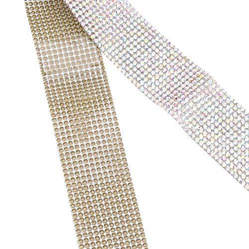 Cinturón de diamantes de cristal con adhesivo, viscosidad fuerte Cinturón de diamantes...