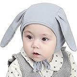 Dsaren Gorrito Algodon Recien Nacido Gorros Bebé Hospital Sombrero Invierno para Niño Niña Regalo de Cumpleaños de Navidad (Azul)