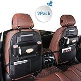LBLA Multifarious Hanging Car Backseat Organizer PU Leather, Multi Pocket Car Storage Bag