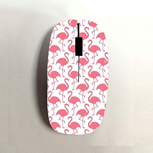 mouse wireless fenicottero Babu Building Plastica Rigida Utilizzare per USB Wireless Mouse Ragazzi Stampa Flamingo Divertente