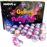 Slime Party Favors [24 Pack] Galaxy Putty   Party Favors for Kids Girls & Boys   Space Party Favors   Putty Balls   Putty Bulk   Kids Putty Slime   Adults, Non Sticky, Stress & Anxiety Relief