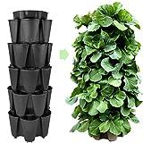 Huge GreenStalk 5 Tier Vertical Garden Planter w/Patented Internal...