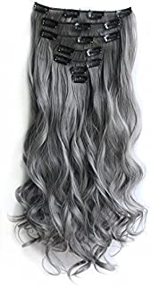 Best black to grey human hair extensions Reviews