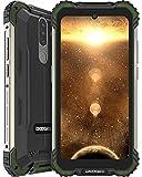 DOOGEE S58 Pro (2021) Móvil Resistente 6GB+64GB, 5180mAh, Cámara Triples 16MP+Cámara Frontal 16MP Teléfono Libre 4G Android 10, 5.7 Pulgada IP68/IP69K Smartphone Todoterreno, NFC/GPS, Verde