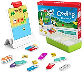 Osmo 901-00021 - Coding Starter Kit for iPad - 3 Educational Learning Games - Ages 5-10+ - Learn to