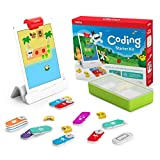 Osmo - Coding Starter Kit for iPad - 3 Hands-on Learning Games - Ages 5-10+ - Learn to Code, Coding Basics & Coding Puzzles iPad Base Included