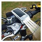 LED Solar, Luz De Bicicleta, Luces Traseras Delanteras Y Traseras, Luz De Bocina, Carga USB, Lámpara De Bicicleta De Montaña gfeizy
