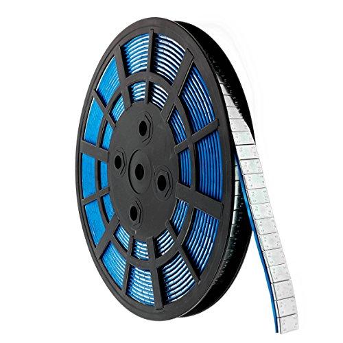 Rolle 5 KG Klebegewicht Abrisskante verzinkt Alufelgen Kleberolle Stahlgewicht 1000x5g Werkstatt Rad Reifen Wecksel PKW Fahrzeug