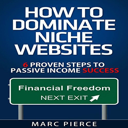 How to Dominate Niche Websites audiobook cover art