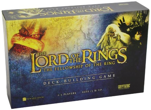 Unbekannt Cryptozoic Entertainment 1443 - Lord of The Rings, Fellowship of The Ring Deckbuilding Game