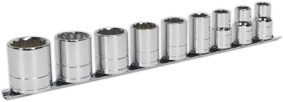 Sealey Max 60% OFF Socket Set 9Pc Drive 1 Whitworth 2Ösq Super Special SALE held