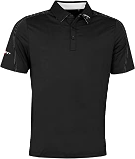 Callaway Golf Mens 2021 Stitched Colour Block Moisture Wicking Polo Shirt
