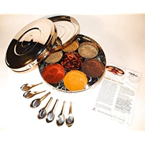 Authentic Indian Spice Box 1