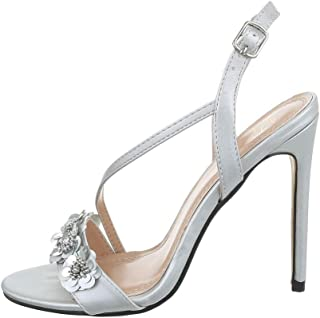 Suchergebnis auf für: glitzer Silber Sandalen