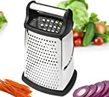 Best Box Graters - Spring Chef 4 Sides Stainless Steel Grater Box Review