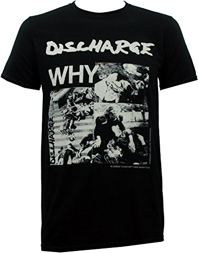 Discharge - Why? T-Shirt Size L