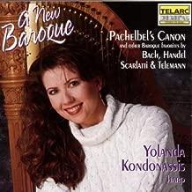 A New Baroque Baroque favorites transcribed for harp