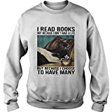 Photo de Cat I Read Books Not Because I Dont Have A Life But Because I Choose to Have Many Shirt - T Shirt for Men and Woman. par