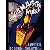 Wee Blue Coo Prints Advert Food Seasoning Maggi Germany