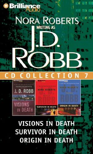J.D. Robb Collection 7: Visions in Death, Survivor in Death, Origin in Death - Book  of the In Death