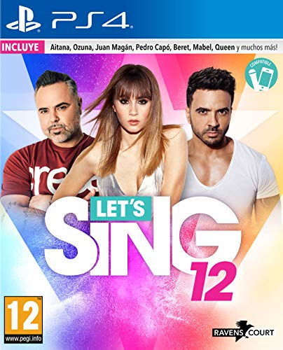 Lets Sing 12 Version Española - PS4 ESP