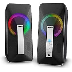 Cassa PC USB, ELEGIANT Altoparlante Bluetooth 10W Stereo Speaker Subwoofer Portatile per Notebook TV Laptop MP3 iPhone 11 pro XS Max XR x 8s iPad Samsung S10 S9 S8 Huawei Mate 30 P30 P20 Pro 10 HTC LG