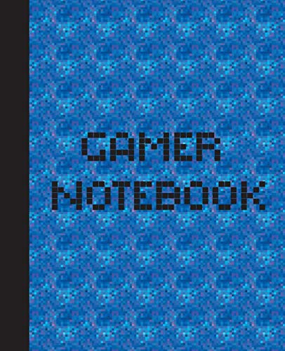 Gamer Notebook: The Game is Never Over. Perfect Unique Gift Idea Wide Ruled Notebook, Composition Sketch Book to write in for Mens Women Girl Boy under 10$