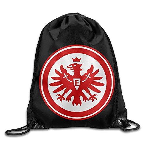 YuYfashions Rucksack mit Kordelzug Gym Drawstring Backpack Sackpack Eintracht Frankfurt