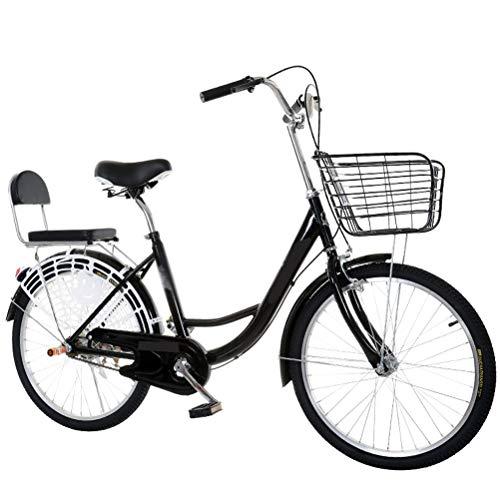 MC.PIG Lady Classic Bike With Basket -24 Inch Lightweight Ad