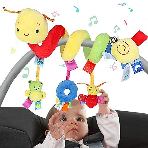 Baby Kinderwagen Spielzeug,Kinderwagen Spirale Spielzeug,Babyschale Spielzeug,Bett Hängen Spielzeug,Baby-Autositz-Spielzeug,Spirale Spielzeug,Babyspielzeug Activity