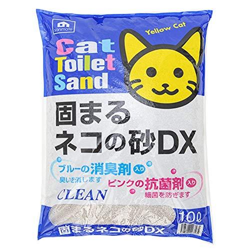 JCL-Cat litter Bentoniet 10L Kattenbakvulling Milieuvriendelijk Agglomerante Nest Waterabsorptie Deodorant Milieuvriendelijk Biologisch Afbreekbaar (Color : 1)