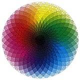 Tosonse Rompecabezas de 1000 Piezas para Adultos y niños Brillantes con Rompecabezas de Colores Regalos de quedarse en casa