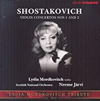 Shostakovich: Violin Concertos by Lydia Mordkovitch