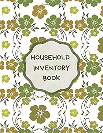 """Household Inventory Book: Document & Track Household Items, Home, Property, Building Contents Claims, Details, Logs, Journal, Organizer 8.5""""x11"""" with 120 pages. (Home Inventory Manager)"""
