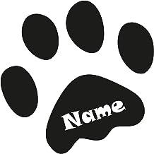 Auto Aufkleber Hund Laptop Aufkleber Autoaufkleber Hund wasserfest AKISU Hundepfoten Aufkleber Vier Pfoten auf Tour Pfoten Aufkleber Auto Paw Sticker Pfoten Aufkleber
