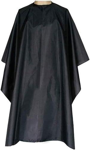 Ealicere 150X120cm Cape de Coupe de Cheveux Cape de Coiffure, Unisexe Salon Imperméable Nylon Cape de Coiffure pour S...