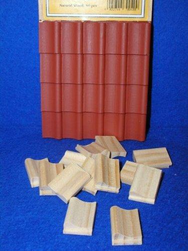 MiniMundus Dachziegel (Falzpfannen) für das Puppenhaus