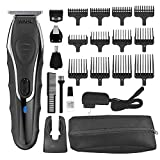 Wahl Aqua Blade Rechargeable Wet Dry Lithium Ion Deluxe Trimming Kit with 4...