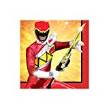 Power Rangers Dino Charge Beverage Napkins, Party Favor