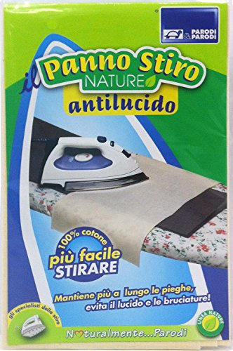 Parodi & Parodi strijkijzer doek antilucido, katoen, beige, 14 x 24 x 1 cm