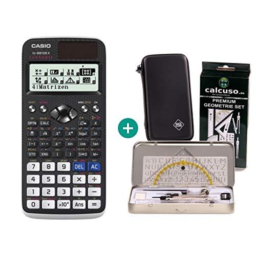 Casio FX-991DE X + Schutztasche + Geometrie-Set