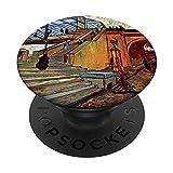Vincent Van Gogh - El puente Trinquetaille PopSockets PopGrip Intercambiable