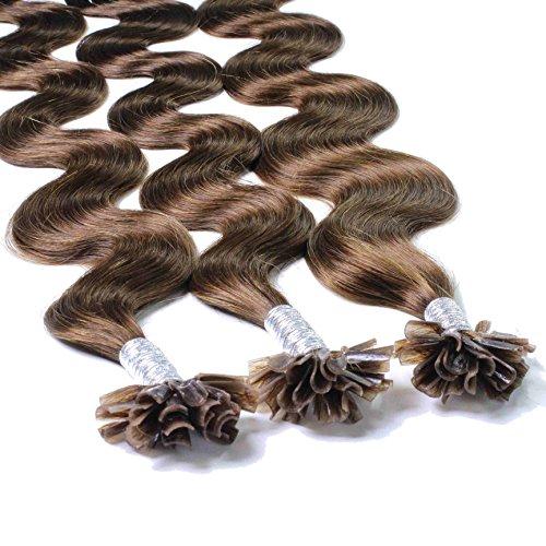 Hair2Heart 50 x 0.5g Extensiones queratina - 40cm