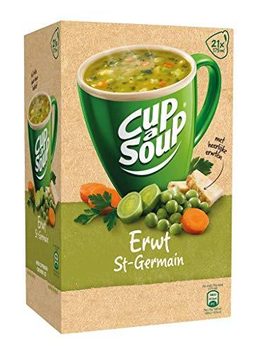 Unilever Erbsensuppe, Coup a Soup, Tütensuppe, Tassensuppe, 21 x 175ml