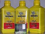Bardahl 4t XTC C60 10W50 - Aceite para motor (3 litros) + filtro