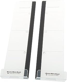 ZooooM 左右 セット パソコン PC ディスプレイ モニター メモ メッセージ ボード ポスト イット 貼り 付け スタンド ZM-MB3878